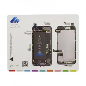 Magnetická podložka na opravu telefonu iPhone 7 PLUS