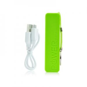 Externí baterie POWER BANK BLUN - Perfume, 2600mAh zelená