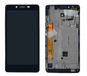 Dotyková deska Lenovo A5000 + LCD s rámečkem černá
