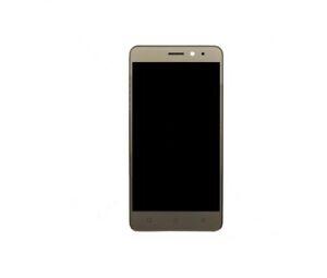 Dotyková deska Lenovo K6 + LCD s rámečkem zlatá