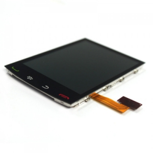 Dotyková deska BlackBerry 9550 + LCD originál černá - ST