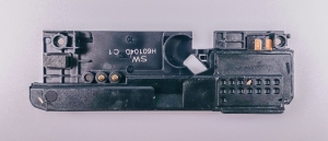 Zvonek (buzzer) Sony Xperia M4 AQUA E2303 - černá