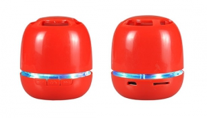 Mini reproduktor BlueTooth barva červená