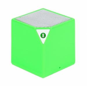 Mini reproduktor BlueTooth KOSTKA barva zelená