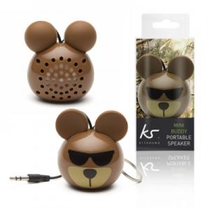 Mini reproduktor MiniBuddy - medvěd