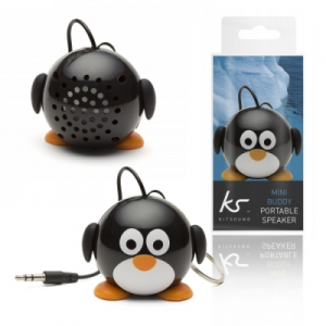 Mini reproduktor MiniBuddy - tučňák