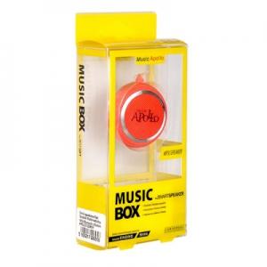 Mini reproduktor Bluetooth APOLLO MINI + rádio barva červená