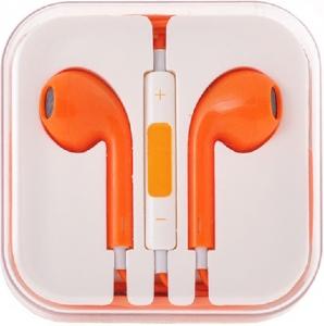 Hands Free MEGA Bass 3,5 mm jack, barva oranžová