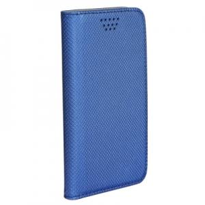 Pouzdro Book STICK MAGNET universal 4,7´´-5,0´´ modrá