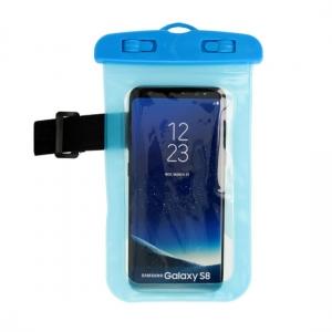 Pouzdro voděodolné zámek plastový barva modrá