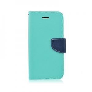 Pouzdro FANCY Diary TelOne Huawei Honor 8 barva světle modrá/modrá