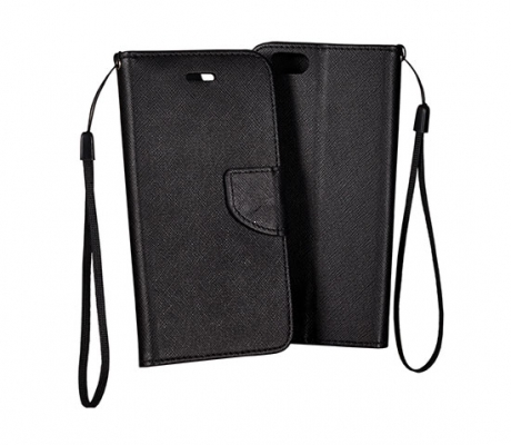 Pouzdro FANCY Diary Samsung i9500, i9505 Galaxy S4 barva černá