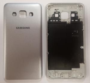 Samsung A300 Galaxy A3 kryt baterie stříbrná