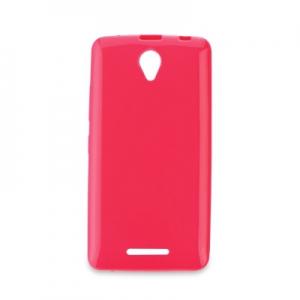 Pouzdro JELLY CASE BRIGHT 0,3mm Lenovo Vibe P1 růžová