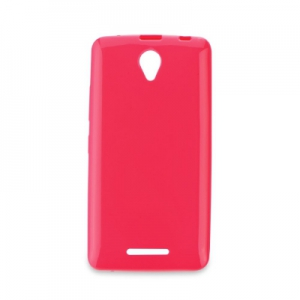 Pouzdro JELLY CASE BRIGHT 0,3mm Samsung G900 Galaxy S5 růžová
