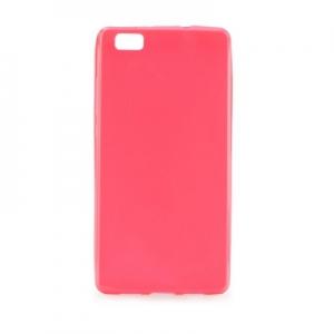 Pouzdro JELLY CASE BRIGHT 0,3mm Samsung G920 Galaxy S6 růžová