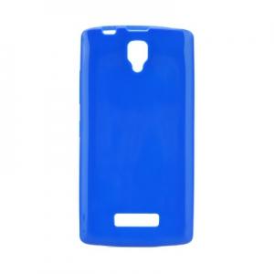 Pouzdro JELLY CASE BRIGHT 0,3mm LG K8 K350 tmavě modrá
