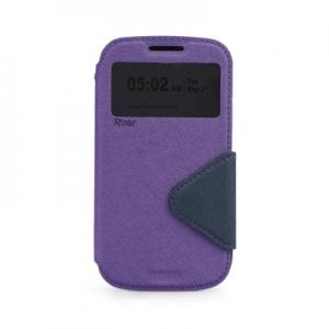 Pouzdro FANCY Diary ROAR LG G5 H850 barva fialová