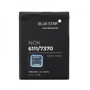 Baterie BlueStar Nokia 6111, 5000, 7370, 2630, 7370, N76, N75 (BL-4B) 1000mAh Li-ion