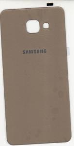 Samsung A710 Galaxy A7 (2016) kryt baterie + lepítka zlatá