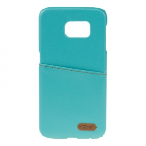 Pouzdro ROAR Noble Skin Samsung G920 Galaxy S6 barva světle modrá