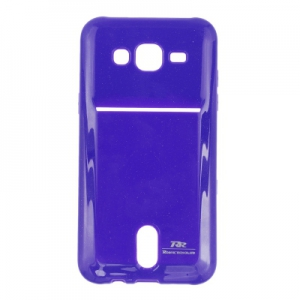 Pouzdro ROAR Jelly Pocket Card Samsung G920 Galaxy S6 barva fialová