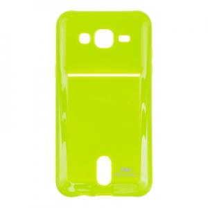 Pouzdro ROAR Jelly Pocket Card Samsung G920 Galaxy S6 barva limetka