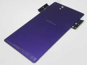 Kryt baterie Sony Xperia Z C6603 + lepítka fialová