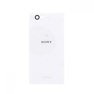 Kryt baterie Sony Xperia Z1 mini/compact D5503 + lepítka bílá