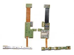 Nokia E66 flex četečka SIM, MSD, boční tlačítka - ST