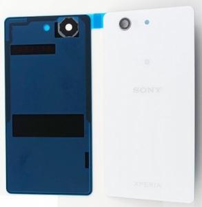Kryt baterie Sony Xperia Z3 mini D5803 + lepítka bílá