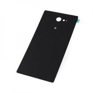 Kryt baterie Sony Xperia M2 D2303, M2 AQUA D2403 + lepítka černá