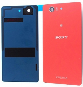 Kryt baterie Sony Xperia Z3 mini D5803 + lepítka orange