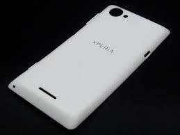 Kryt baterie Sony Xperia L C2105 bílá