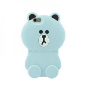 Pouzdro 3D Case Samsung G360, G361 Galaxy Core Prime Medvěd modrý