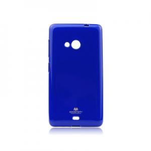Pouzdro MERCURY Jelly Case Samsung A320 Galaxy A3 (2017) tmavě modrá