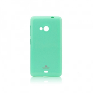 Pouzdro MERCURY Jelly Case iPhone 5, 5S, SE mint
