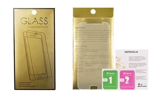 Tvrzené Sklo 9H Huawei Y5 II, Y6 II compact GoldGlass