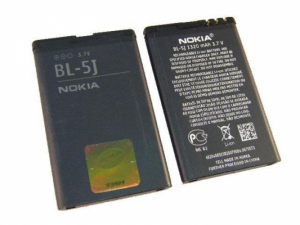 Baterie Nokia BL-5J 1430mAh Li-ion (Bulk) - 5230, 5800