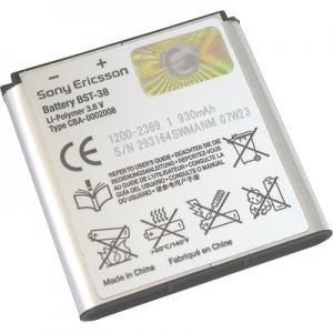 Baterie SonyEricsson BST-38 970mAh Li-ion (Bulk) - K850