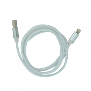 Datový kabel micro USB barva bílá - METAL