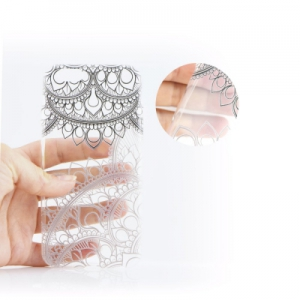 Pouzdro ART Ultra slim Samsung G920 Galaxy S6 vzor 12 (TRANSPARENT)