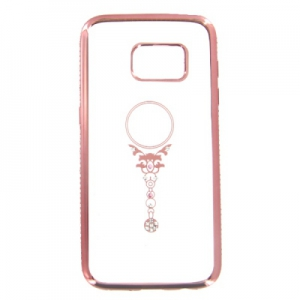 Pouzdro Bling Rosegold Collection Samsung G920 Galaxy S6 beauty