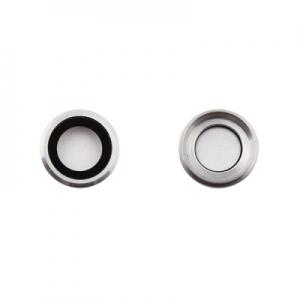 Sklíčko zadní kamery iPhone 6 PLUS, 6S PLUS 5,5 stříbrná