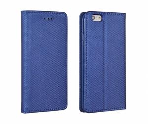 Pouzdro Smart Book MAGNET Samsung G930 Galaxy S7 barva modrá