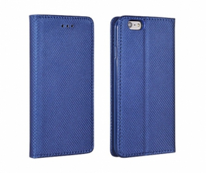 Pouzdro Smart Book MAGNET Huawei Y6 II barva modrá