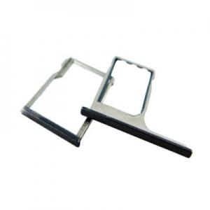 Držák (šuplík) SIM HTC One M8 černá