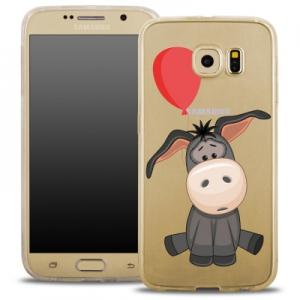 Pouzdro Back Case FASHION Samsung G920 Galaxy S6 transparentní - oslík