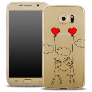 Pouzdro Back Case FASHION Samsung G935 Galaxy S7 Edge transparentní - děti