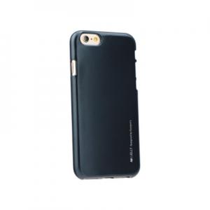 Pouzdro MERCURY i-Jelly Case METAL iPhone 6, 6S 4,7 černá